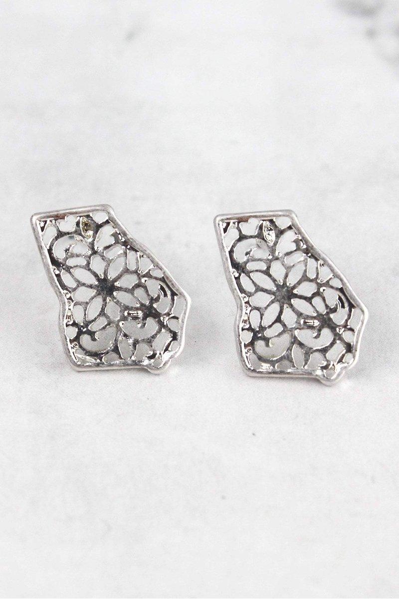 Filigree Georgia Stud Earrings