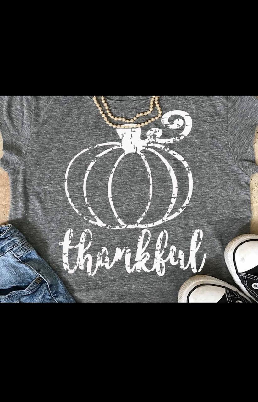Thankful Pumpkin Tee