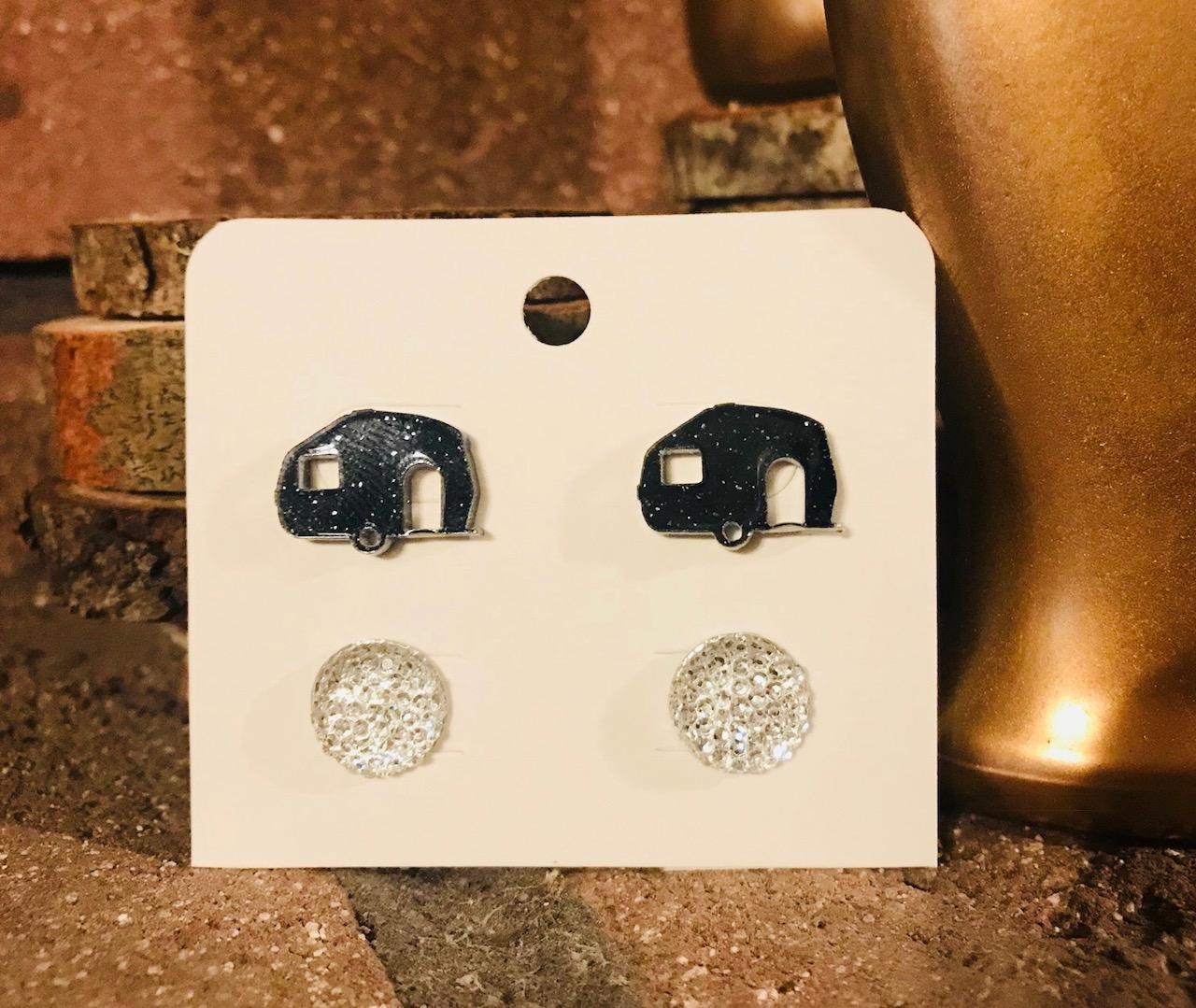 Happy Camper Earring Set