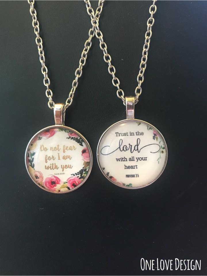 Scripture Necklaces