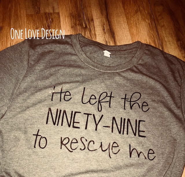 He left the Ninety Nine Tee