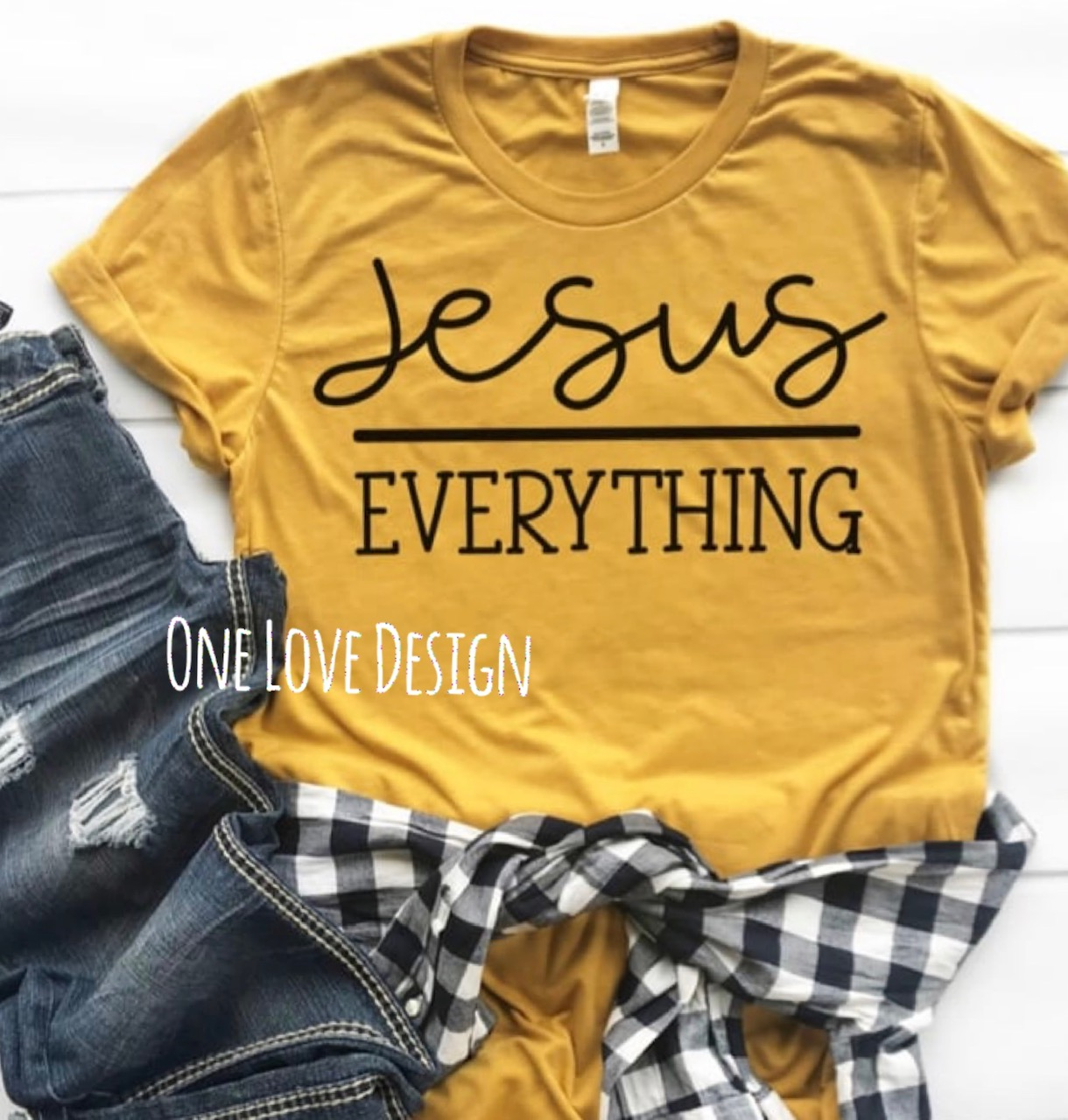 Jesus over Everythign Tee