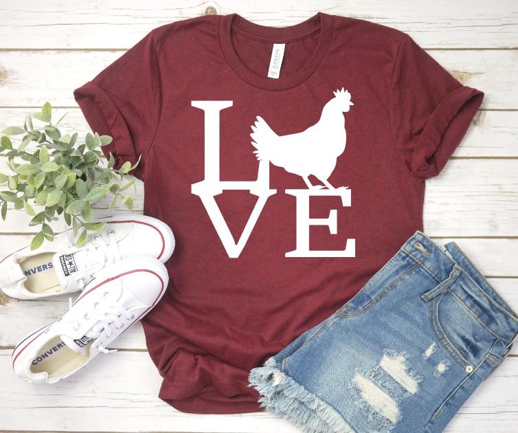 Chicken Love Tee