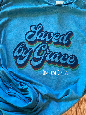 Saved By Grace Sublimation Tee