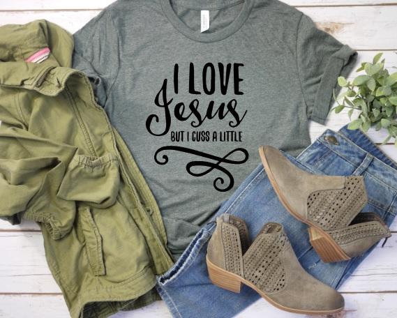 Love Jesus Tee