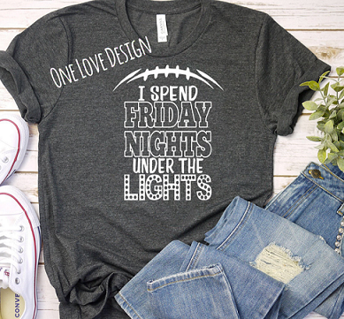 Friday Nights Under the Lights Tee