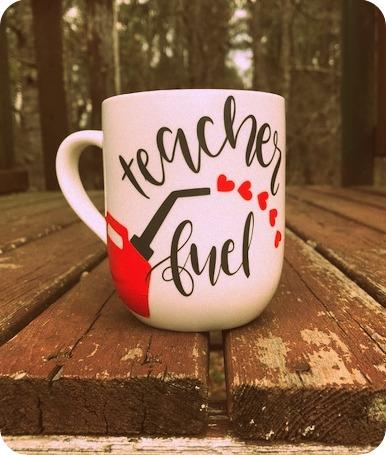 Teacher Fuel Coffee Cup