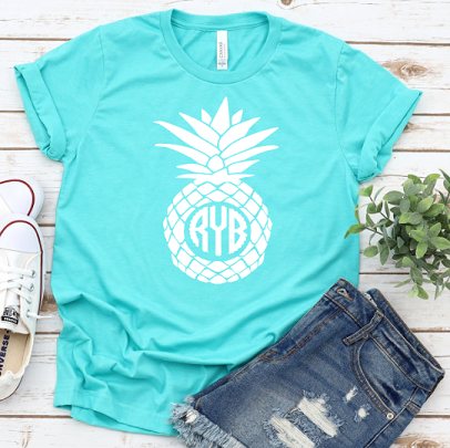 Personalized Pineapple Tee