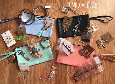 THREE item grab bag with FREE clutch included!