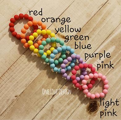 Children's Rainbow Bracelets