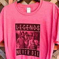 Legends Never Die Sublimation Tee