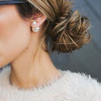 Dual Pearl Earrings