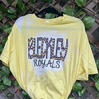 Bleached Bleckley Royals Tee