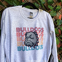 Retro Bulldogs Tee