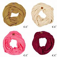 C.C Knitted Infinity Scarf