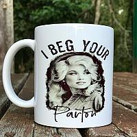 Dolly Sublimation Coffee Cup