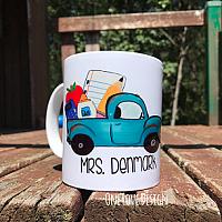 Teacher Truck Coffee Cup
