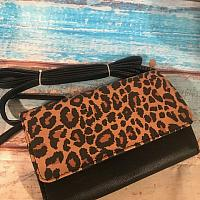 Leopard Print Crossbody purse