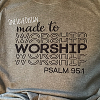 Made to Worship Sublimation Tee