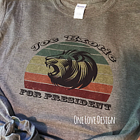 Joe for  President Sublimation Tee