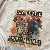 Joe is my Spirit Animal Sublimation Tee