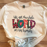 The Whole World Sublimation Tee