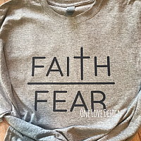 Faith over Fear Sublimation Tee