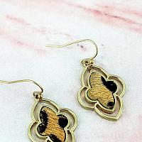 Leopard Moroccan Earrings