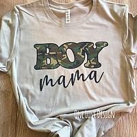 *Bella* Boy Mama Camo Tee