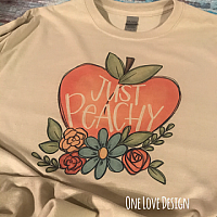 Just Peachy Sublimation Tee