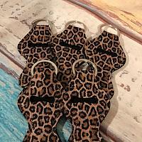 Leopard Print Chapstick Holder