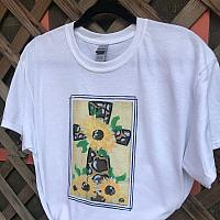 Sunflower Cross Sublimation Tee