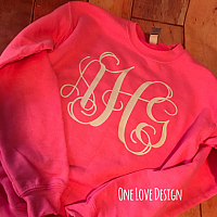 *YOUTH* Monogram Sweatshirt