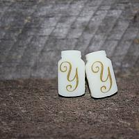 Personalized Mason Jar Earrings