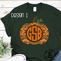 Personalized Pumpkin Tee