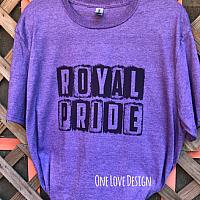 Royal Pride Sublimation Tee