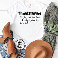 Thanksgiving Family Tee