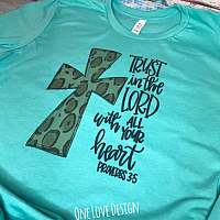 *Bella* Trust In The Lord Sublimation Tee