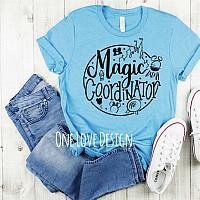 Magic Coordinator Vinyl Tee