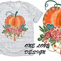 Boho Pumpkin Design