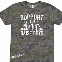 Camo Support Wildlife Tee