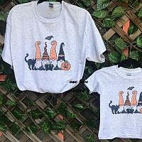 Halloween Gnome Sublimation Tee