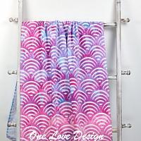 Seashell Embroideed Beach Towel