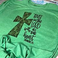 Trust In The Lord Sublimation Tee