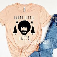 Happy Little Trees Vinyl Tee