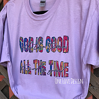 God Is Good All The Time Sublimation Tee