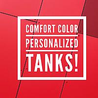 Comfort Colors Pocket Tanks