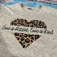 Love Is Patient Sublimation Tee